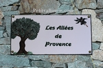 FRESQUE FAIENCE RECTANGLE DECOR OLIVIER POUR RESIDENCE