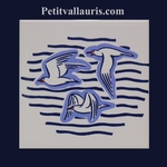 CARRELAGE MURAL BLANC COLLECTION MARINE GOELANDS MOUETTES